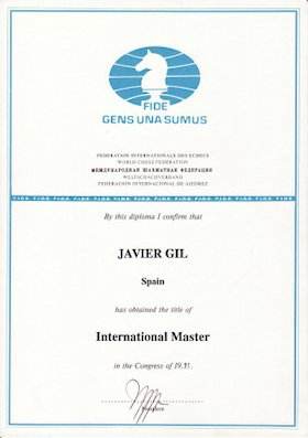 International Master Title